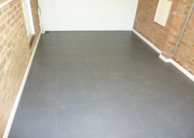 Flooring and skirting
